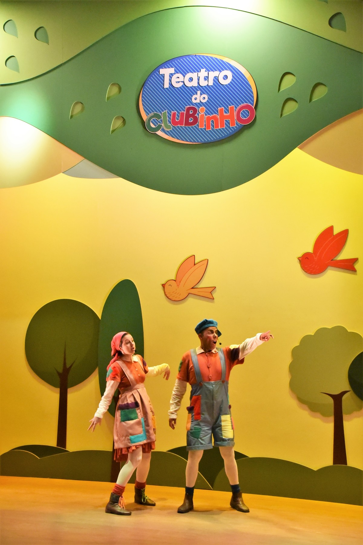 """Tem """"João e Maria"""" esse fim de semana no Teatro doClubinho"""
