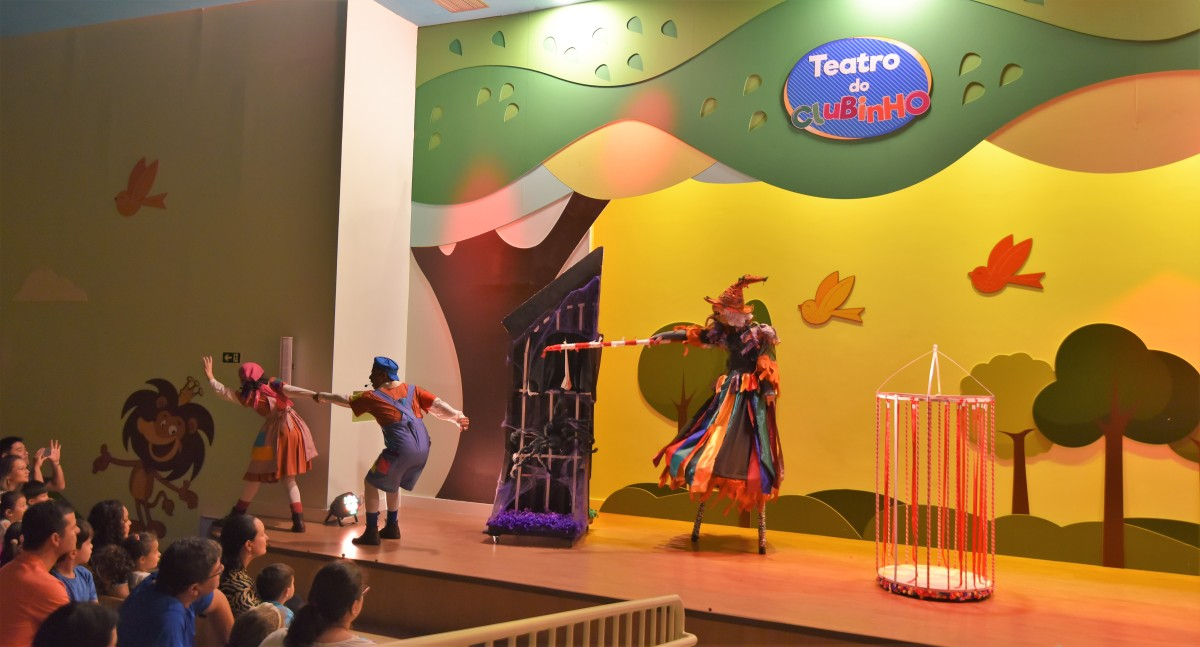 Teatro infantil, uma excelente opção nas fériasescolares